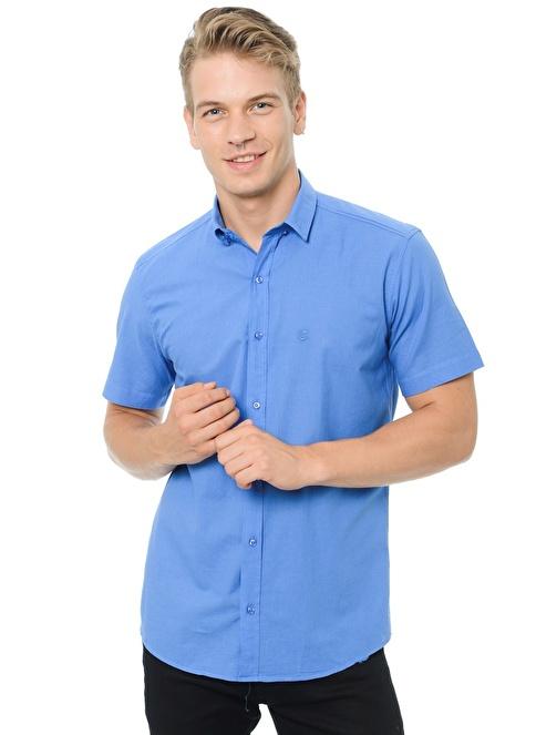 Degarza Gömlek Mavi